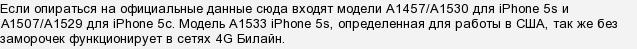 Поддерживает ли айфон 5s 4g