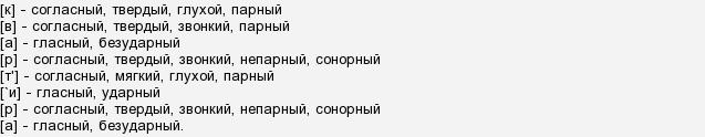 Как сделать правильно фонетический разбор фото 478