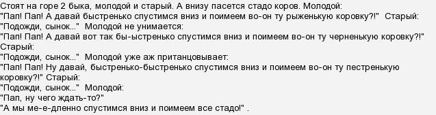Анекдот Про Быков