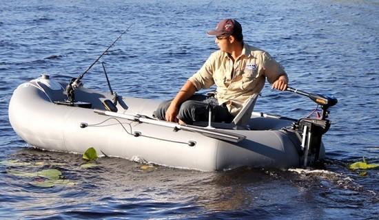 мотор электрический для надувной лодки видео