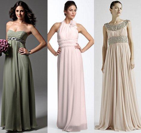 Вечерние платье ампир 113