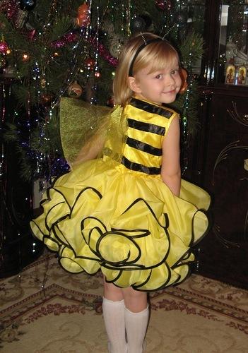 Новогодние костюм пчелка